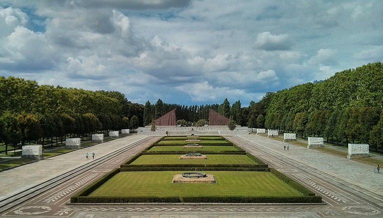 The Soviet War memorial is a sight to behold