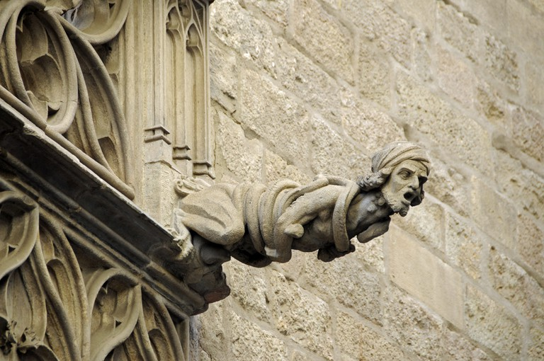 A gargoyle from Barcelona's Gothic quarter © Son of Groucho