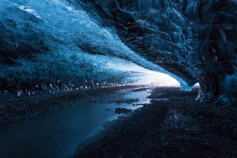 Ice cave in Vatnajokull | © David Phan - Flickr