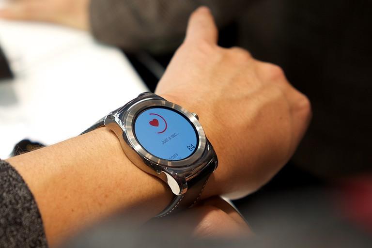 LG Smart watch © Kārlis Dambrāns