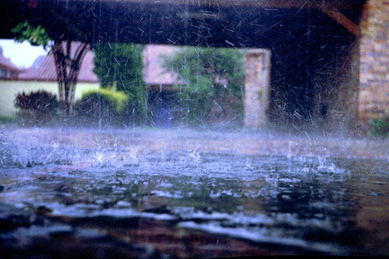 When it rains in Colombia, it really rains…