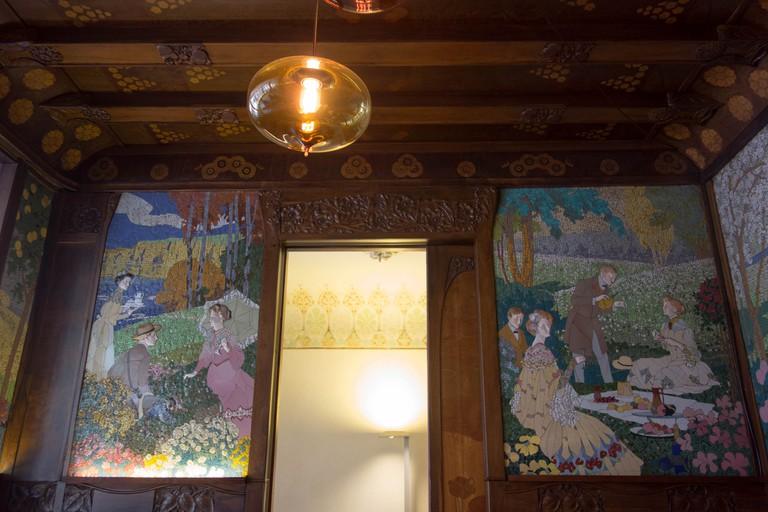 Detail from Casa Lleo Morera © Kent Wang