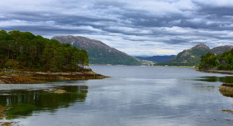 Loch Carron, From the Kyle Train