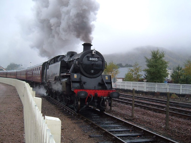 Steam Engine at Aviemore