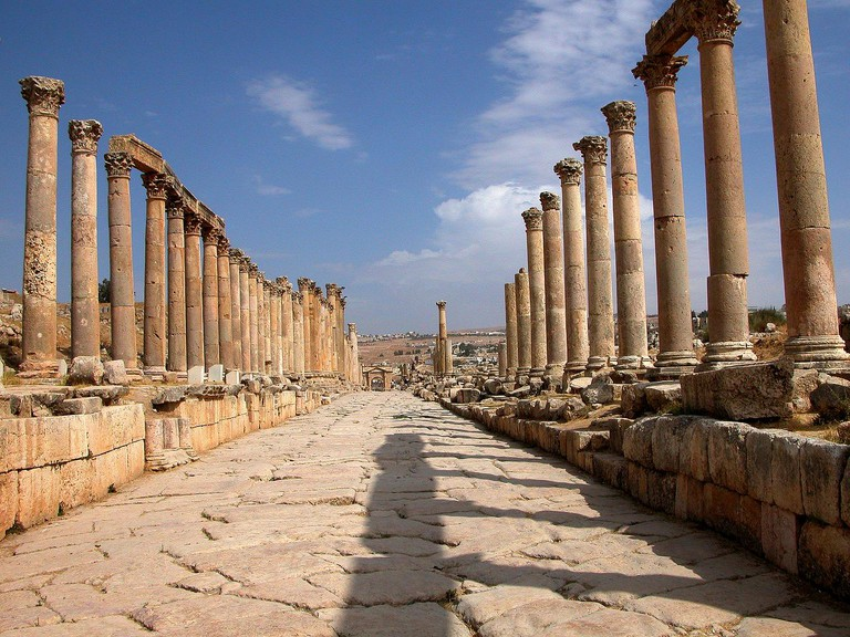 Jordan-16A-102 - Colonnaded Street