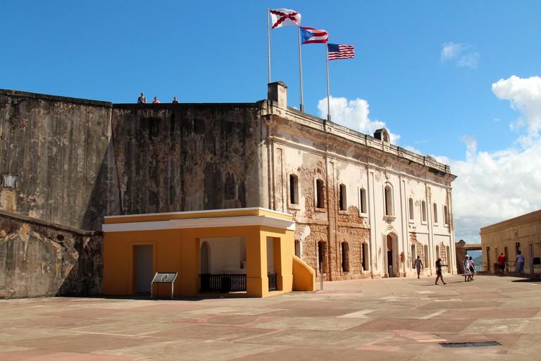 Castillo de San Cristobal, Old Town San Juan, Puerto Rico | © Prayitno/Flickr