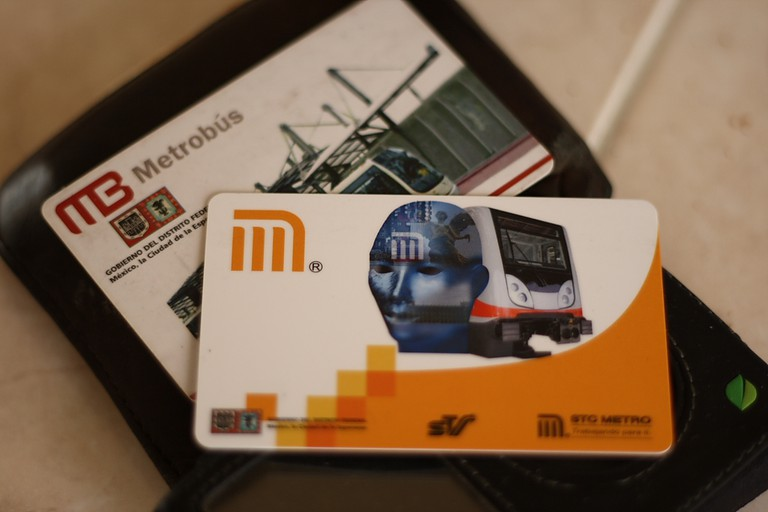 Top up railcard for use on the Tren Ligero, Metro and Metrobús