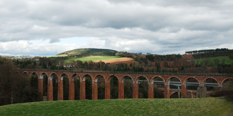 Leaderfoot Viaduct, Borders Railway