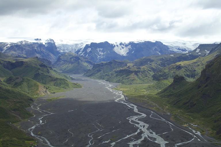 Beautiful view of Thorsmork