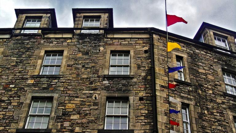 Corner Building At Grassmarket | © D. Sinclair Terrasidius/Flickr