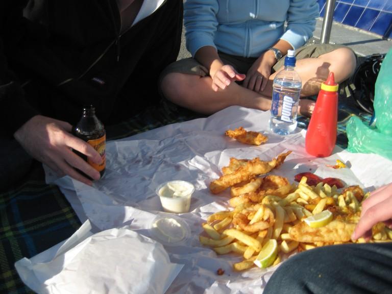 Proper Fish and Chips Picnic