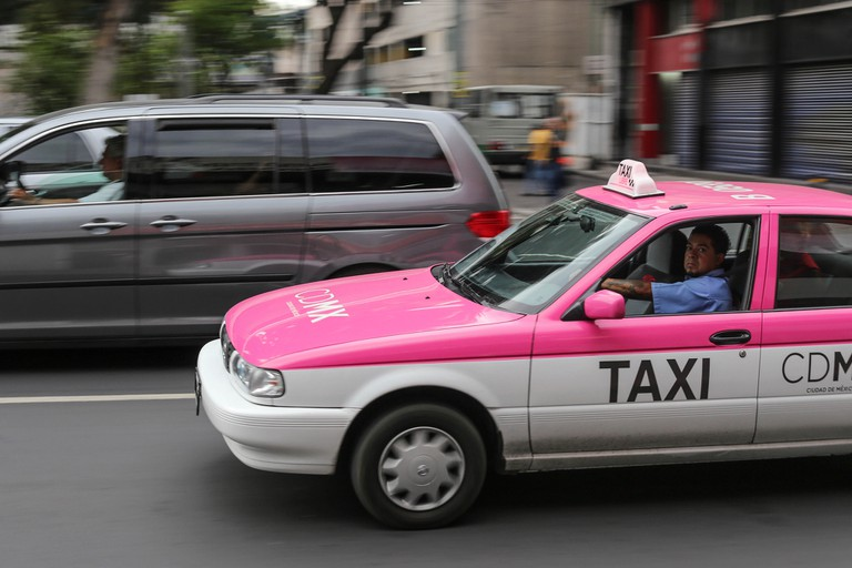 Taxi in Mexico City