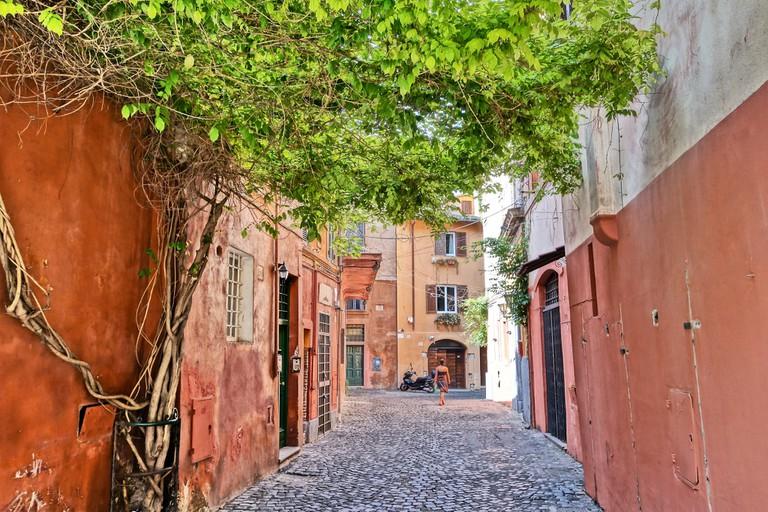 Trastevere streets