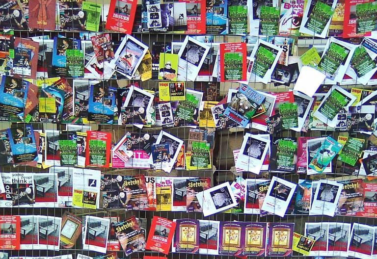 Wall Of Fliers | © Steve Greer/Flickr