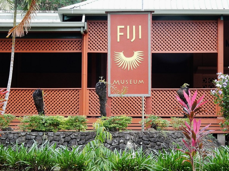 Fiji Museum in Suva, which displays items from Fiji's cannibalism history