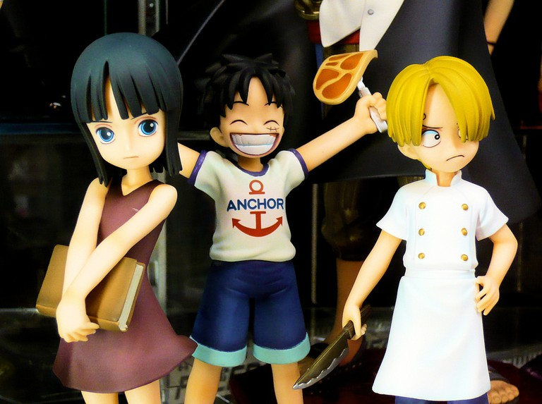 PVC figures from One Piece | © DocChewbacca / Flickr
