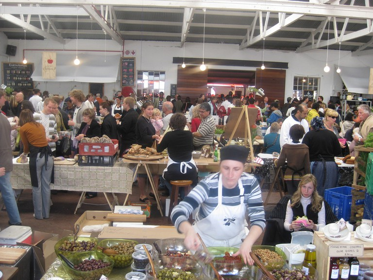Market at the Old Biscuit Mill, Cape Town