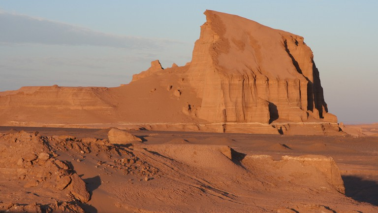 Temperatures in the Lut Desert reach record highs