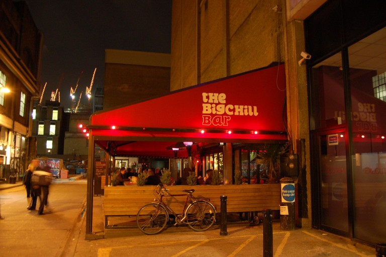 The Big Chill Bar awning