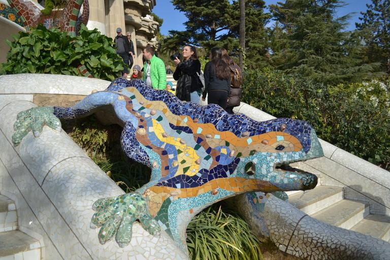 El Drac at Park Güell © Larry Koester