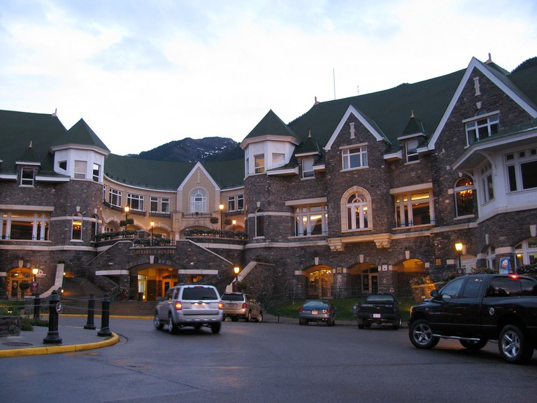 The stately Fairmont Banff Springs