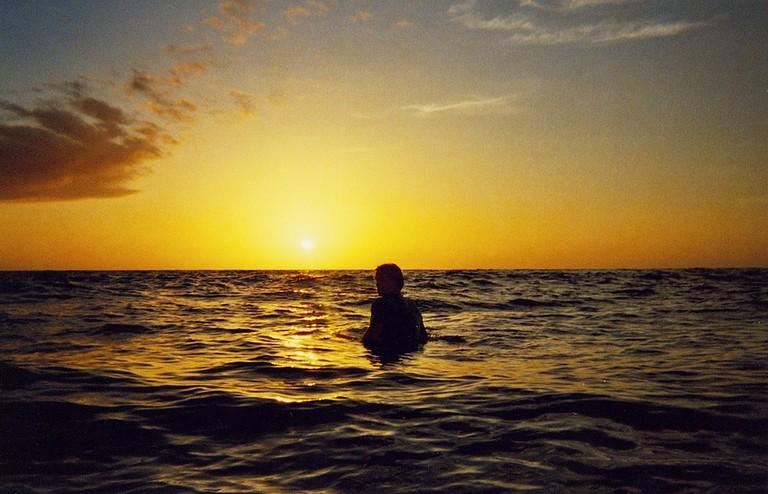 Solitude at sunset/Roman Konigshofer/Flickr