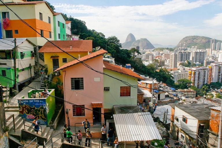 Dona Marta favela |© Pedro Kirilos | Riotur/Flickr
