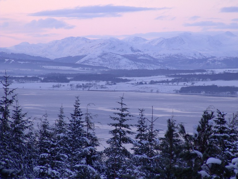 The Beauly Firth in Winter