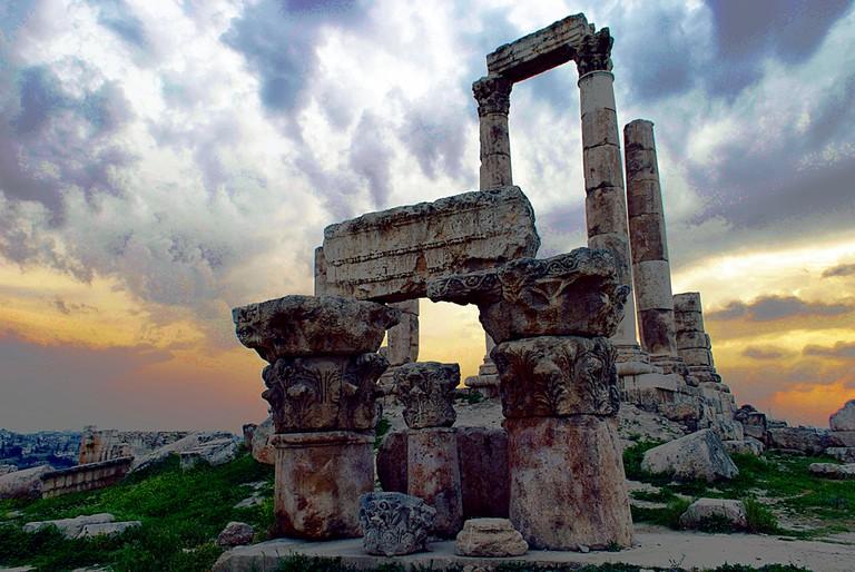 מקדש הרקולס, עמאן