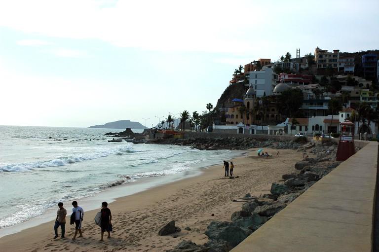 Mazatlán, Sinaloa is great for surf newbies