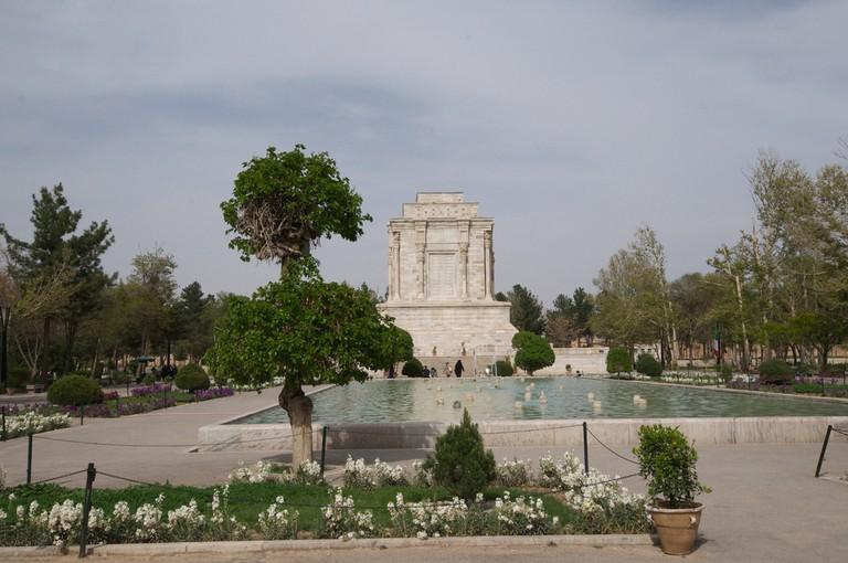 Ferdowsi's mausoleum in Tus