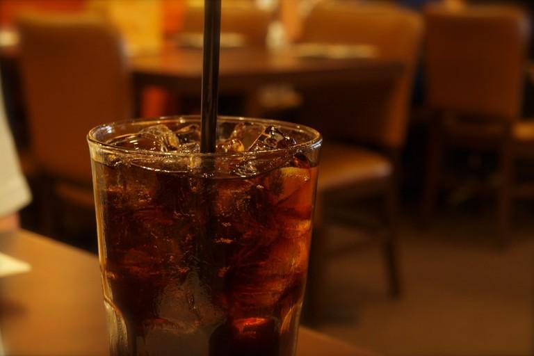 Coca-cola, a key ingredient of a charro negro