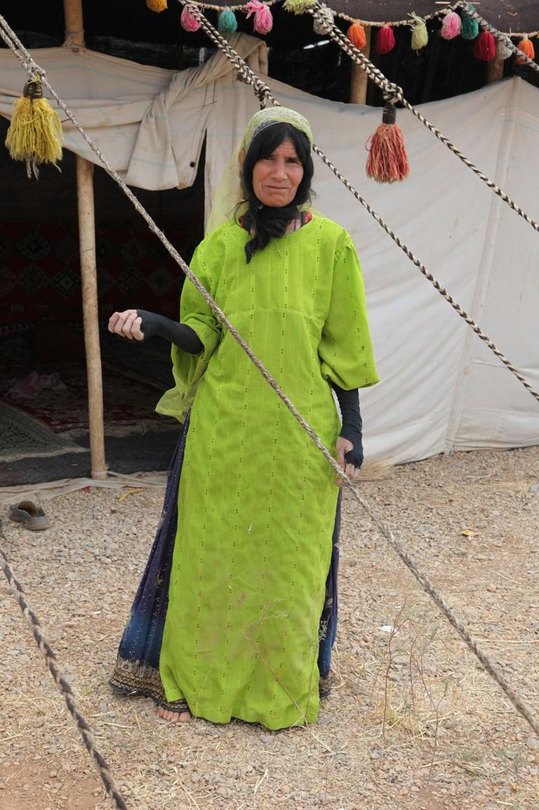 Qashqai woman | © Ninara / Flickr
