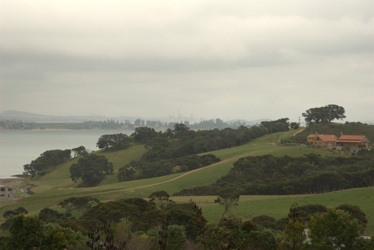 View From Cable Bay Vineyard