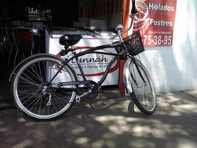 A bike in safe Colonia del Valle