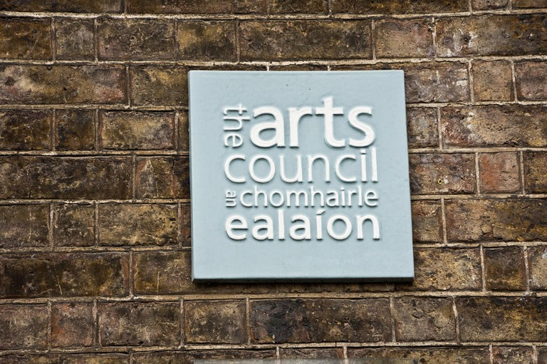 The Arts Council sign | © William Murphy/Flickr