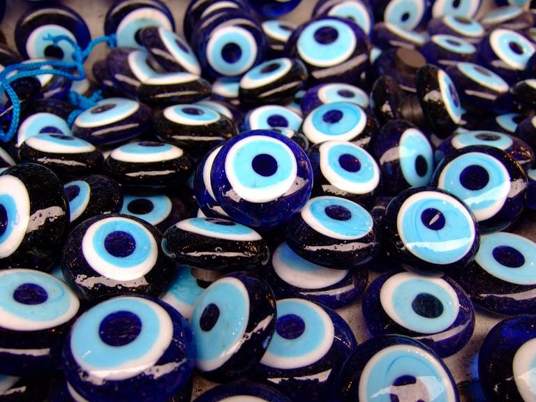 Evil eye is against being jinxed