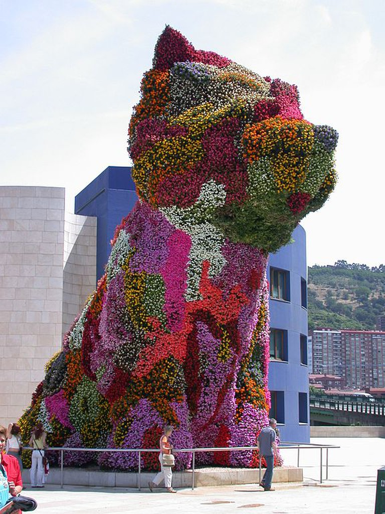 Jeff Koons, Puppy | © Alfredte/Creative CommonsJeff Koons, Puppy | © Alfredte/Creative Commons