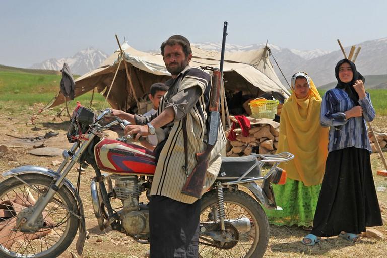 A Bakhtiari family | © Ninara / Flickr
