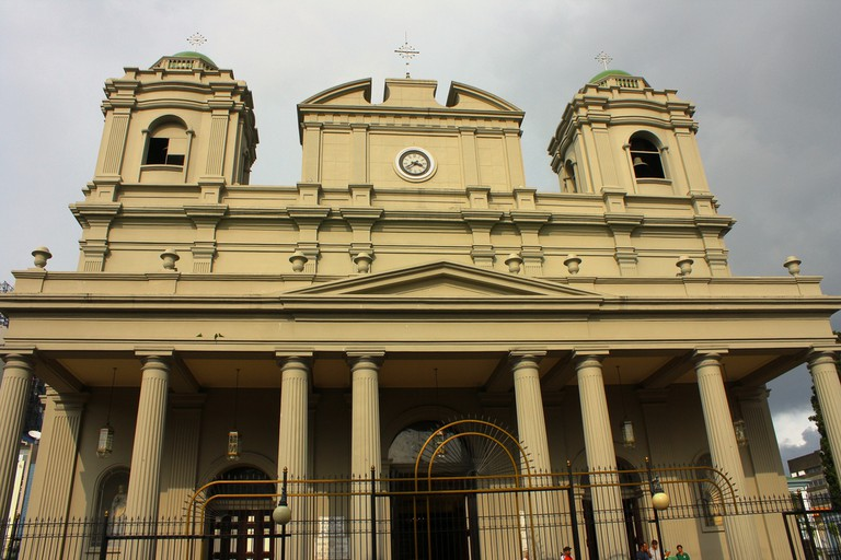Front façade of the Metropolitan Cathedral