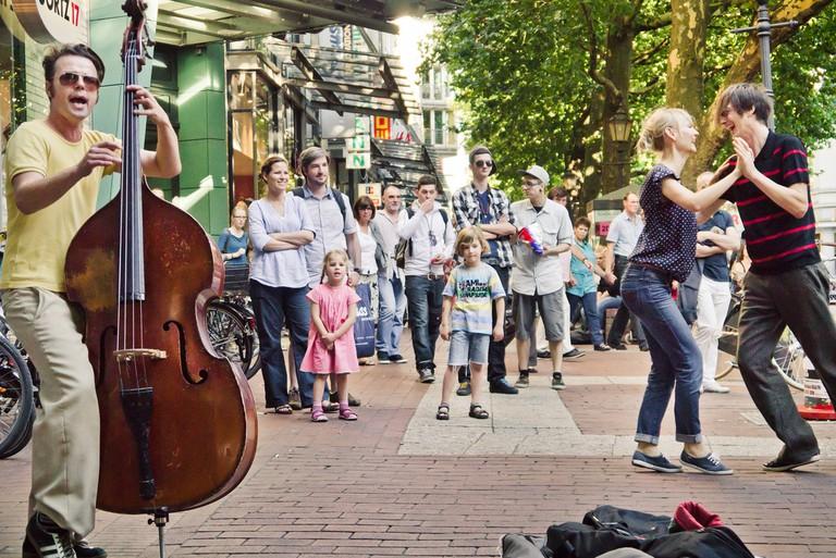 On the streets of Ottensen