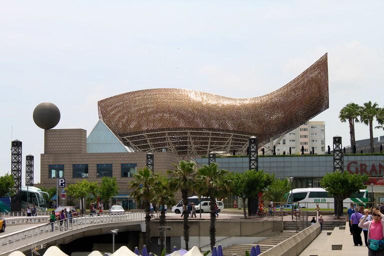 Frank Gehry's El Peix d'Or © Alexander Johmann