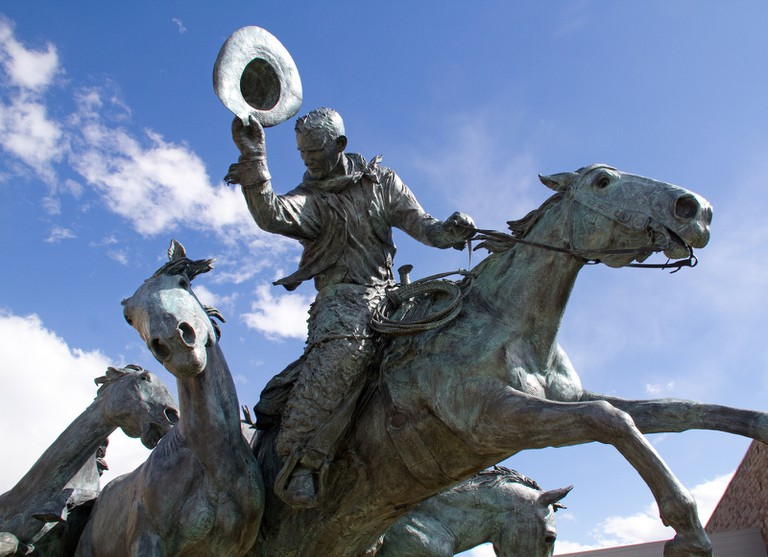 Calgary Stampede Statue