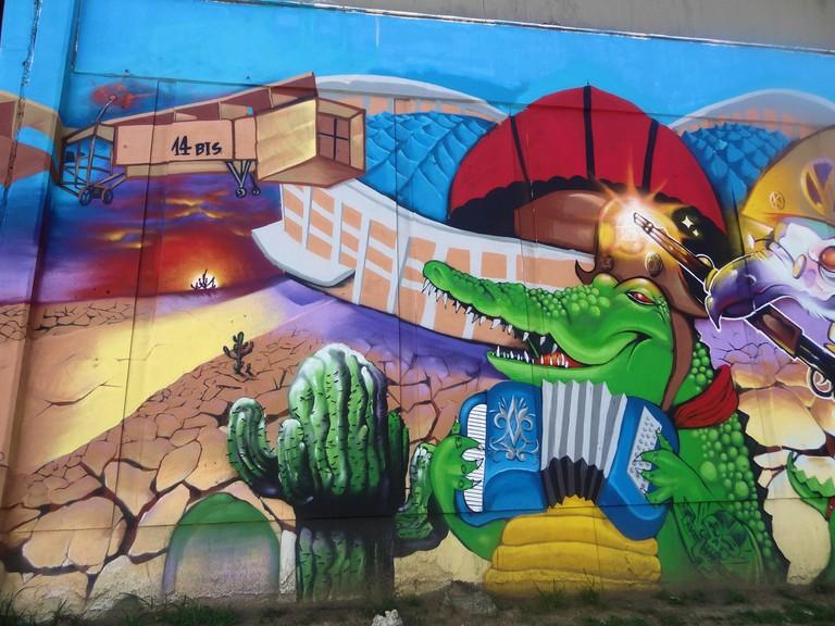 Street art from the World Cup |© Jonas de Carvalho/Flickr