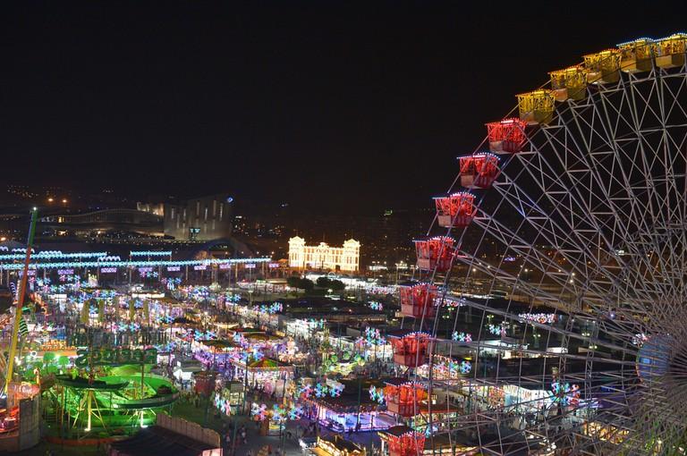 Málaga Feria is a 24-hour party