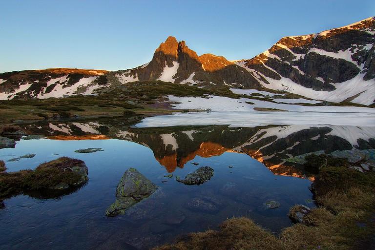 The Twin Lake in the Rila mountains I
