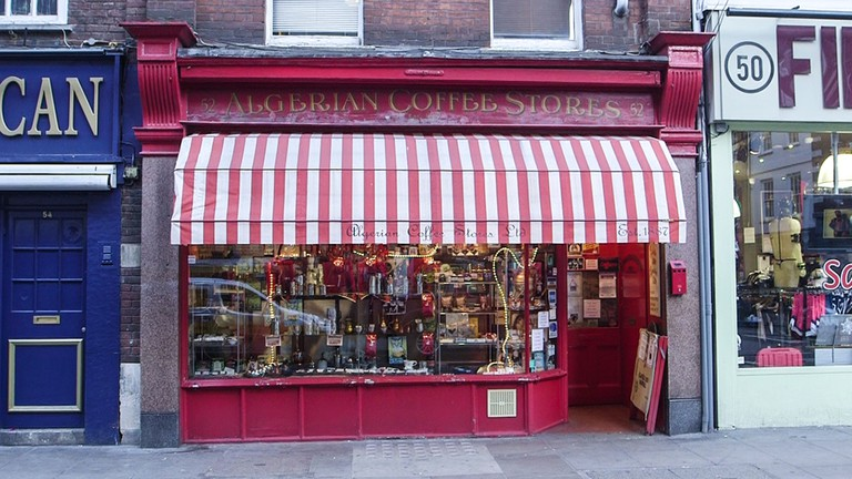 The 130 Year Old London Coffee Shop That Still Sells 120
