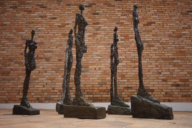 Alberto Giacometti sculptures at the Fondation Marguerite et Aimé Maeght │© Ronald van der Graaf / Flickr