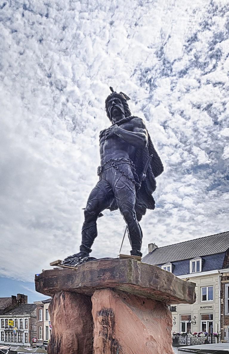 Ambiorix' statue in Tongerlo | © Johan Neven / Flickr