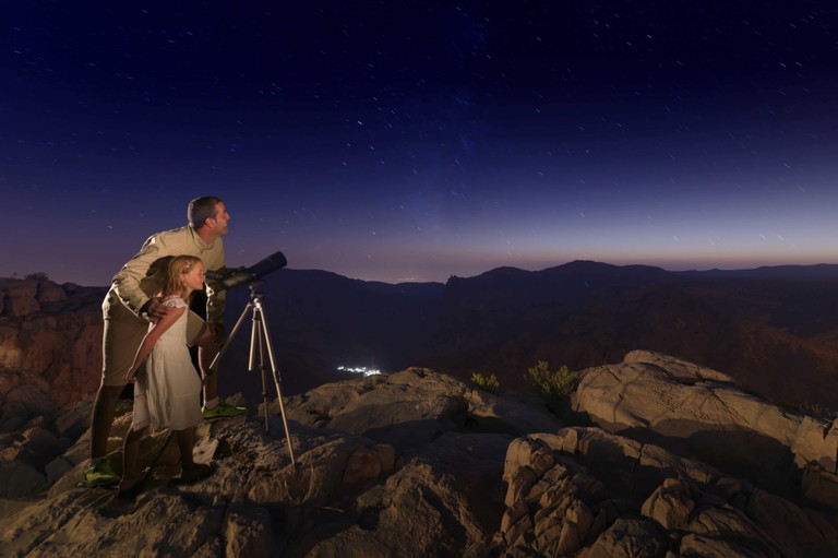Star Gazing at the Anantara Jabal Akhdar | © Anantara Jabal Akhdar Hotel
